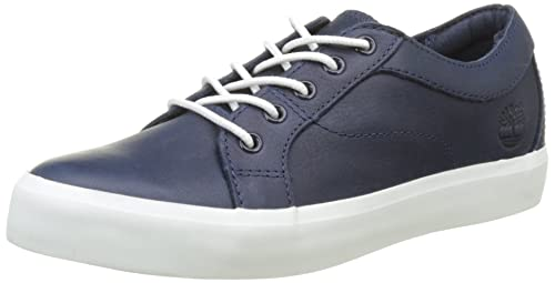 Womens Flannery Oxfordstone Blue Escape Full Grain Low-Top Sneakers Timberland O7VM0KA
