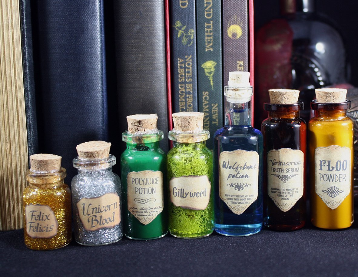 Amazon Com Harry Potter Inspired Potion Bottle Christmas