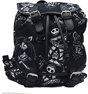 disney nightmare before christmas jack and sally knapsack backpack - Nightmare Before Christmas Backpack