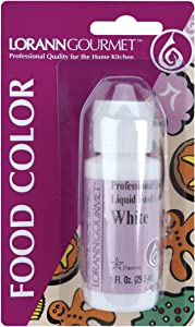LorAnn Oils Liquid Food Color, 1 oz, White