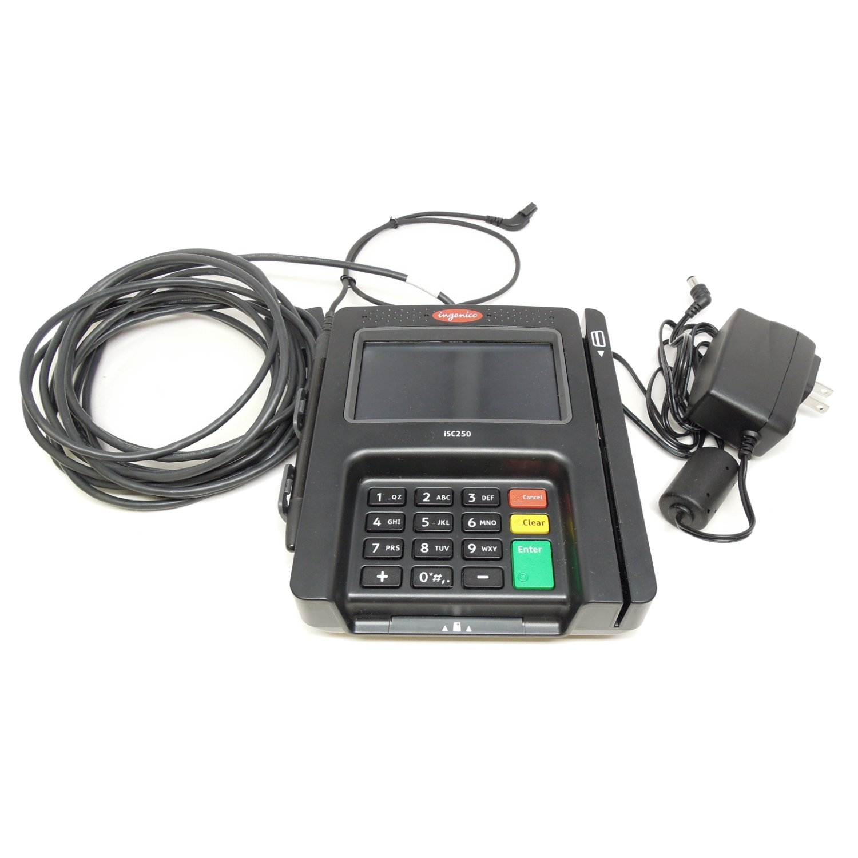 Amazon com: Gilbarco PA0412000CNC2 Passport Pinpad iSC 250 Ingenico