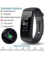 S1 CUBOT Smart tracker pulsera Bluetooth 4.0 impermeable pantalla táctil OLED podómetro rastreador inalámbrico actividad pulsera Smart all-weather Heart Rate Monitor de sueño, Recordatorio de Llamada