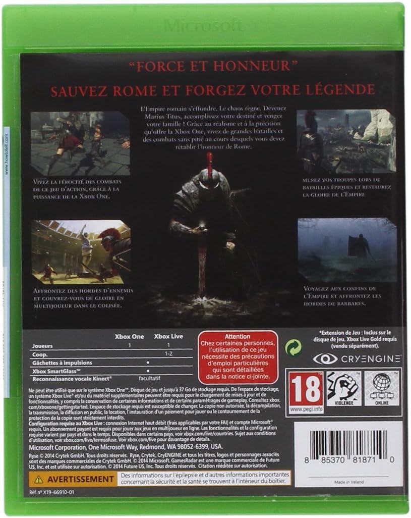 Ryse: son of Rome - Édition légendaire [Importación Francesa]: Amazon.es: Videojuegos
