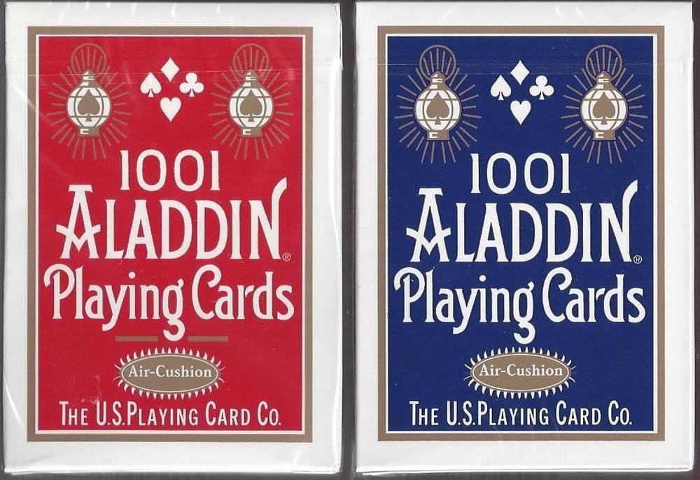 Aladdin 1001 Finish Playing Cards (Smooth Finish Blue) by Aladdin ...