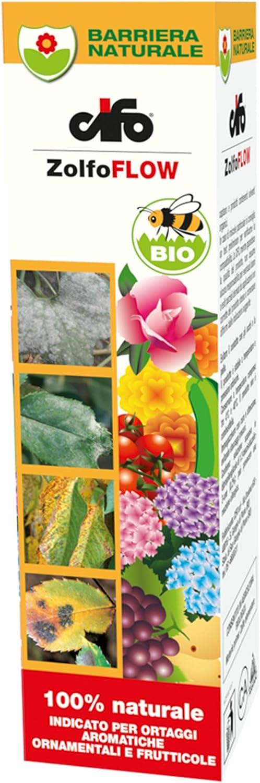 CIFO azufre Flow 200ML para frutales frutales aromáticas Ornamentales admitido en Agricultura biológica A Base de azufre