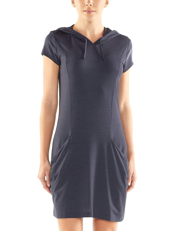 Icebreaker Merino Womens Yanni Hooded Dress