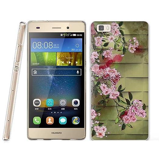23 opinioni per Huawei P8 LITE Cover, Fubaoda Lusso 3D Rilievo UltraSlim TPU Skin Cover