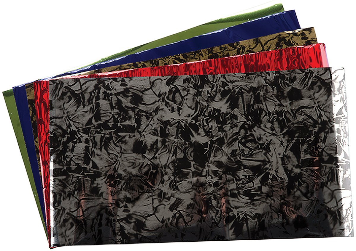 Lisa Pavelka Fantasy Foil Collection, Black/Gold, Black/Silver, Ruby Red, Lime Green, Royal Blue and Violet JHB 327216