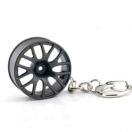 Amazon.com: Maycom Creative Classic Tree Shrew Champion wheel Auto Part for BBS Model Wheel Rim Tyre Keychain Keyring Key Chain Ring Keyfob: Automotive
