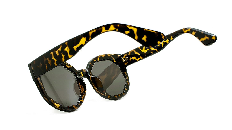 Unisex Semi-hard Zippered Case Sunglasses UV400 Protection with Storage Bag
