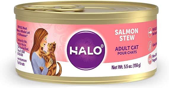 Halo Grain Free Natural Wet Cat Food