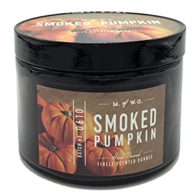 Makers of Wax Goods Smoked Pumpkin Scented Candle Batch No. 0610