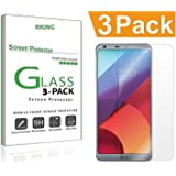 LG G6 / LG G6 Plus Screen Protector, [3 Pack] RKINC [Tempered Glass] [Case Friendly] [Anti-Scratch] [0.3mm 9H 2.5D] Ultra-Clear Tempered Screen Protector Film LG G6 2017-3Pack