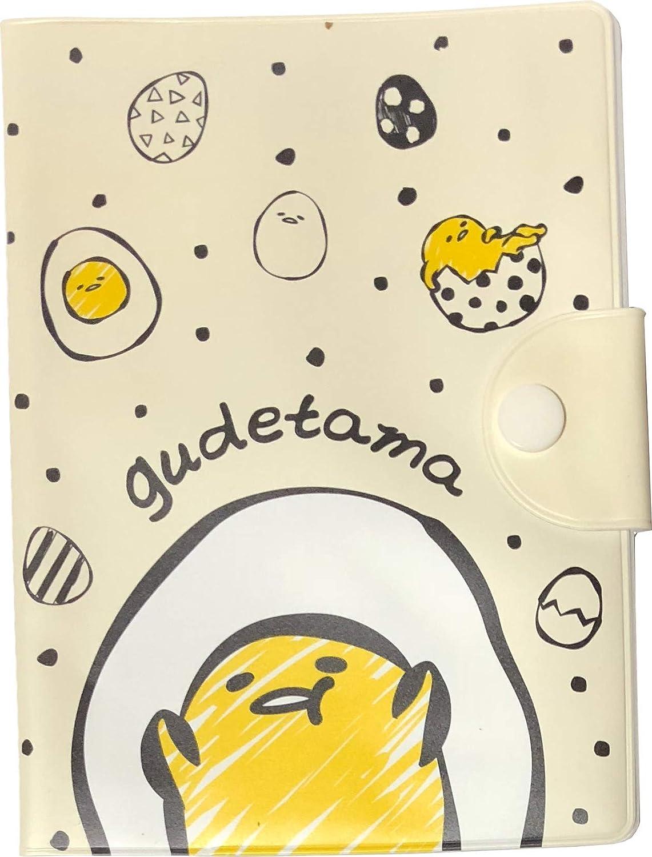 SANRIO Gudetama Lazy Egg Card Holder vinyl Transparent Pocket JAPAN FREE SHIP