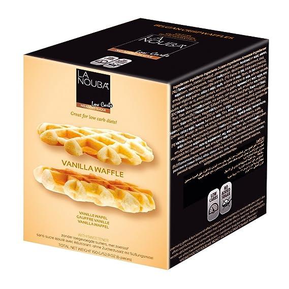Gofres Belgas Esponjosos low carb La Nouba 150 g