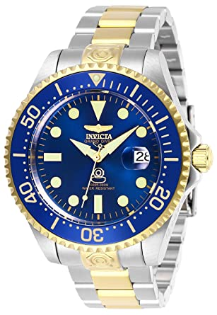 Invicta 27613 Pro Diver Reloj para Hombre acero inoxidable Automático Esfera azul: Amazon.es: Relojes