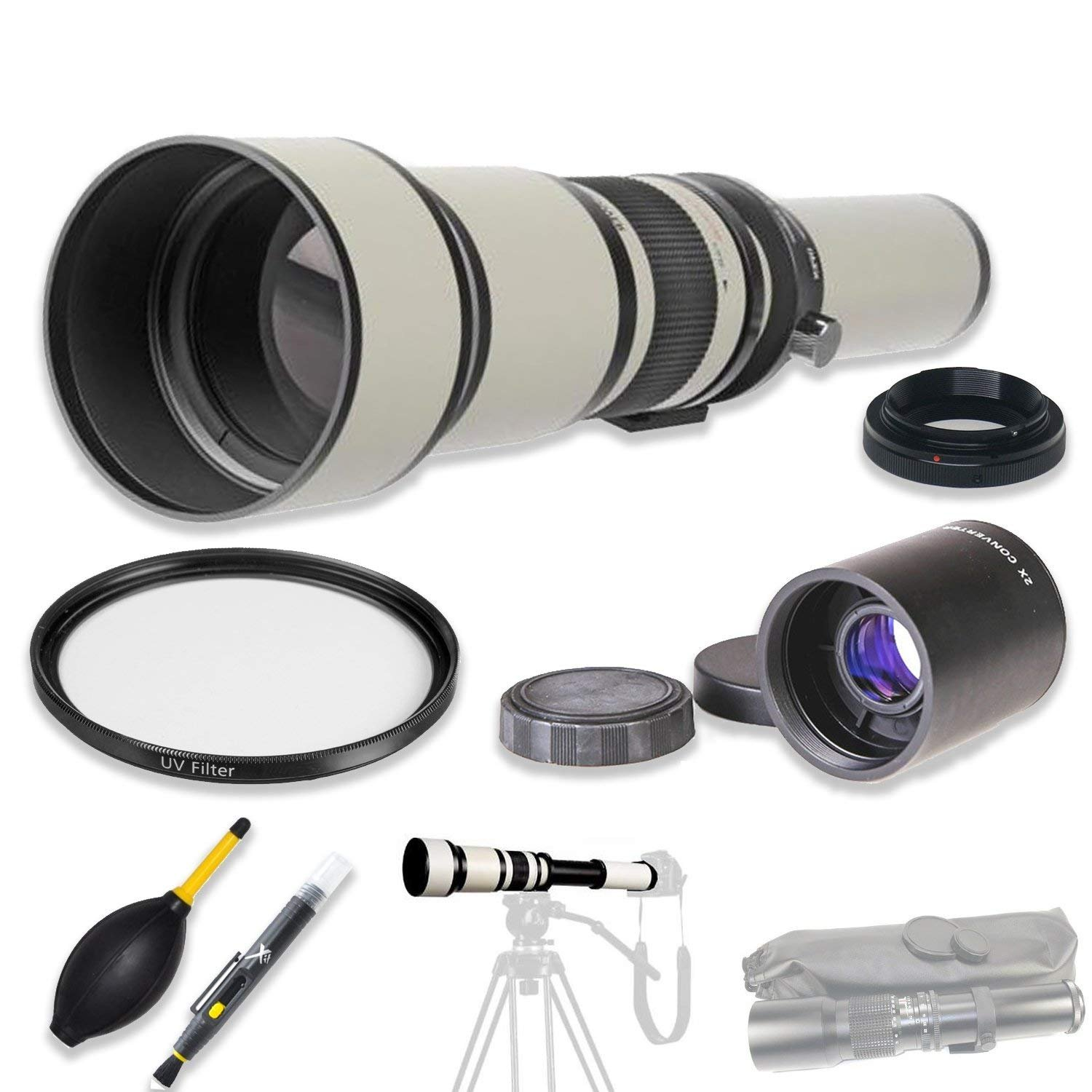High Definition Accessories multi-coated 650 – 1300 mm B07DX6RWH7 f for/ 8.0 – 16.0プリセット望遠レンズ+ 2 x Teleconverter & Accessories for Nikon DSLRs Including d3100、d3200、d3300、d3400、d5300、d5600、d7200、d7500、d750 & More B07DX6RWH7, SELECTSHOP ARCHISS:24a5f1f1 --- ijpba.info