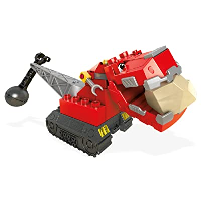 Mega Construx Dinotrux Ty Rux Vehicle: Toys & Games