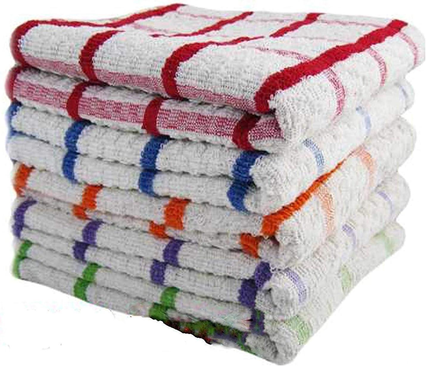 Sunshine Comforts - Paños de cocina 100% algodón egipcio de rizo ...