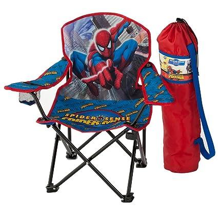 Amazon.com: Marvel Spider-Man Spider-Sense – Silla plegable ...