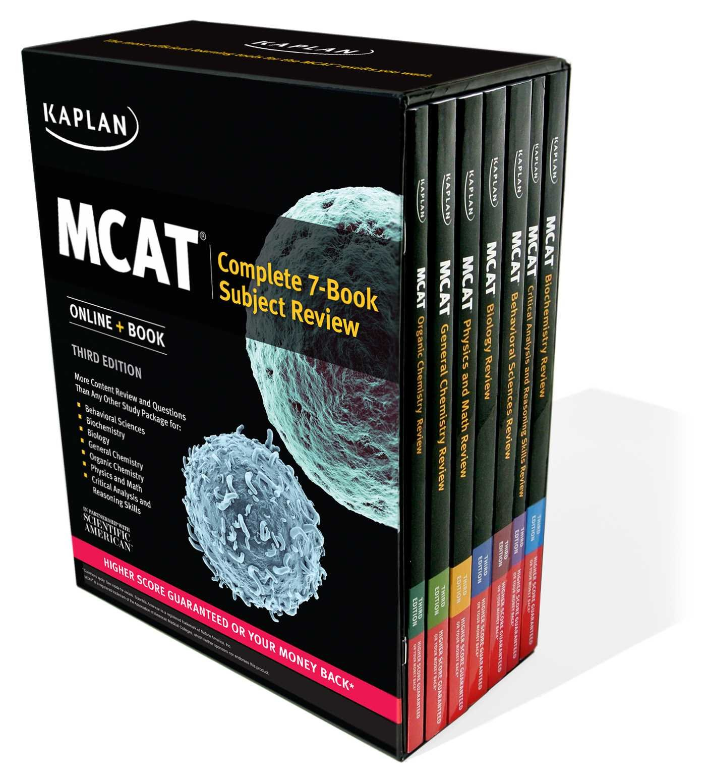 MCAT Complete 7-Book Subject Review: Online + Book: Kaplan Test Prep:  9781506205595: Books - Amazon.ca