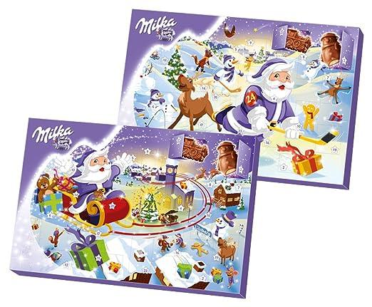 Milka Weihnachtskalender.Milka Adventskalender 1er Pack 1 X 200 G Amazon Ca Grocery