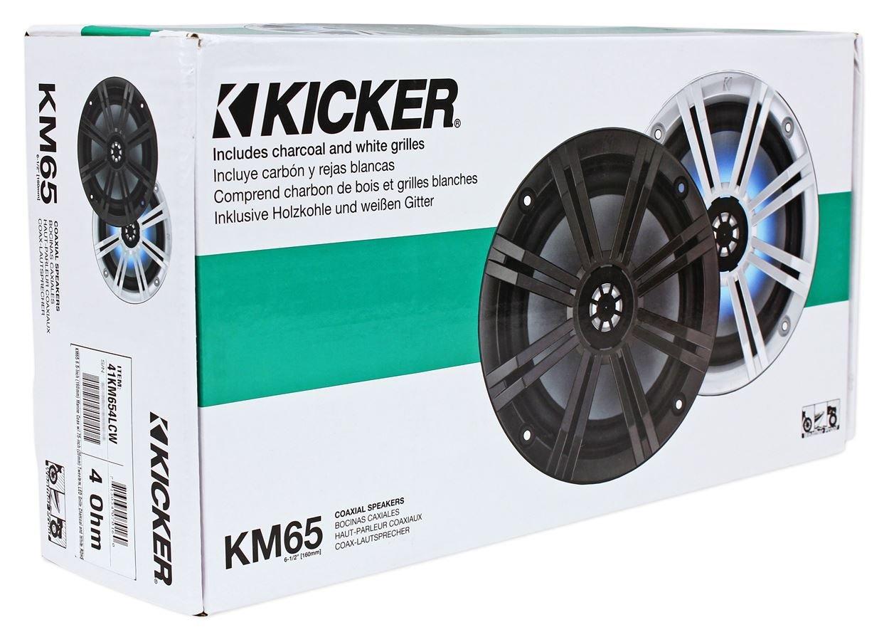 Amazon.com: Kicker 41KM654LCW KM65 6.5\
