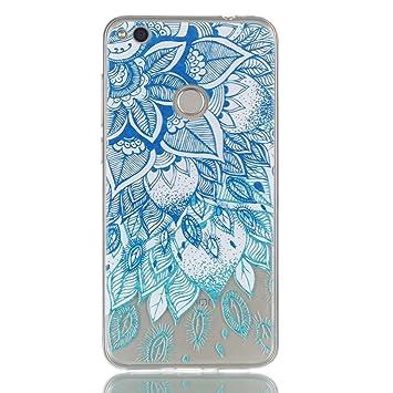 All Do Carcasa Huawei P8 Lite 2017 Carcasa de Silicona Suave Funda Ultra Delgado Carcasa Transparente Claro Carcasa Anti Choque Anti-arañazos para ...