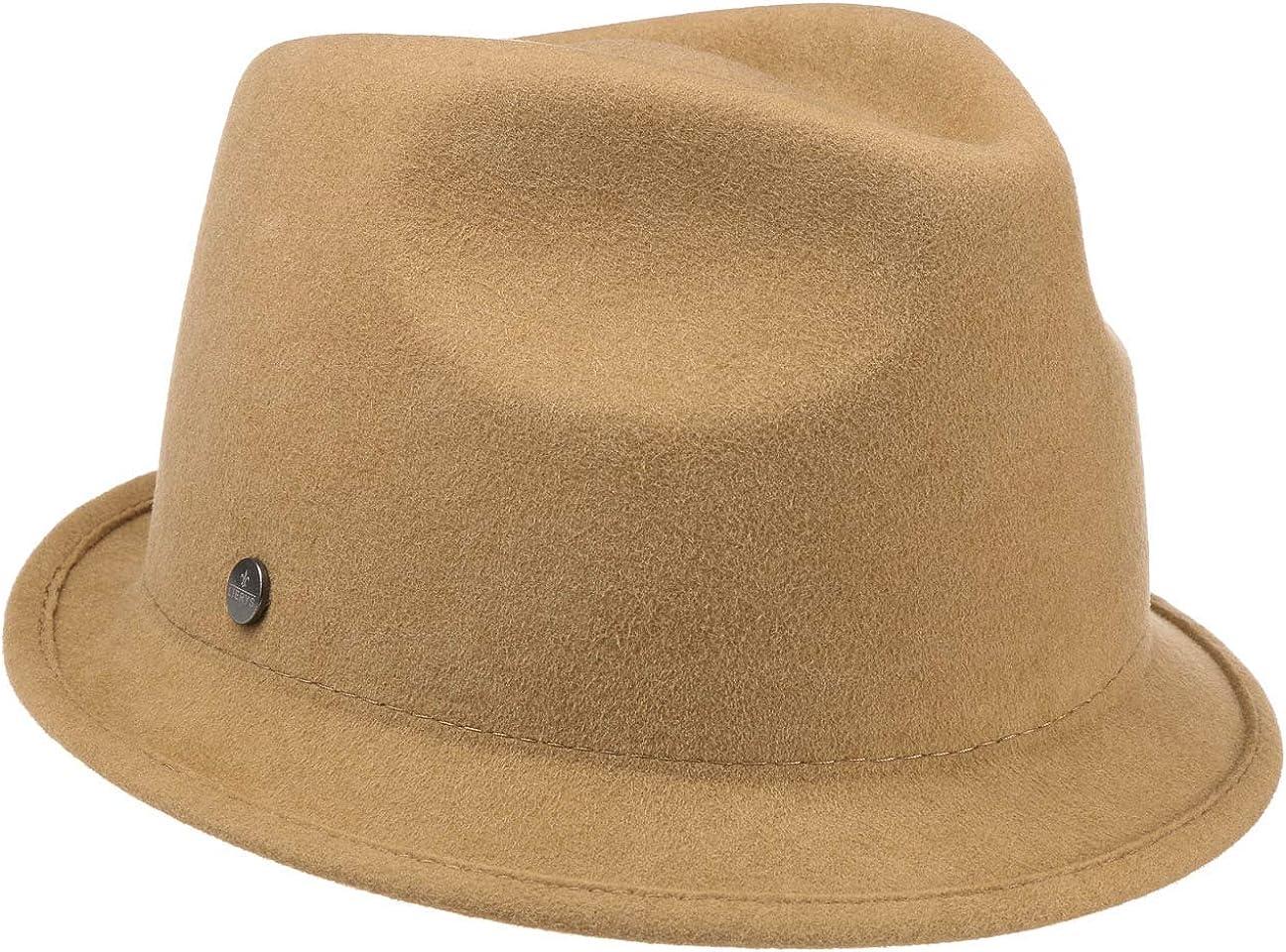 Lierys Sombrero de Mujer Shania Trilby - Made in The EU Fieltro Lana Verano/Invierno