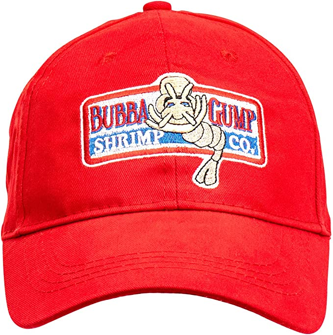 Gorra de béisbol LACKINGONE unisex Forrest Gump Cap Flat-Edge Red ...