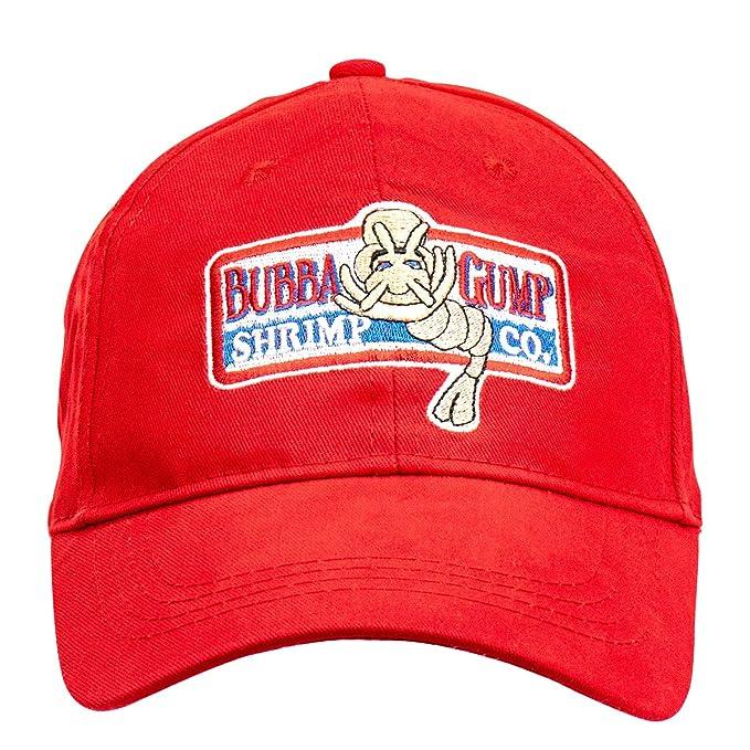 Baseball Chapeau 1pc Casquette De Baseball R/églable Bubba Gump Shrimp Casquette De Baseball Brod/é Snapback Chapeaux en Cours Costume Sport Noir