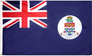product image for Annin Flagmakers Model 191372 Cayman Islands Flag 3x5 ft. Nylon SolarGuard Nyl-Glo 100% Made in USA to Official United Nations Design Specifications.