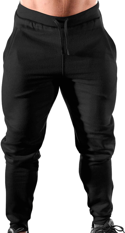 B07KMLCLZ3 Monsta Clothing Co. Men\'s Workout (ES: Monsta Classic-000) Gym Cuffed Joggers 61wVajyfSEL