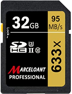 Amazon.com: 32GB SD Card, BOYMXU Professional 1000 x Class ...