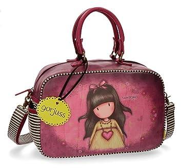 Gorjuss Heartfelt Bolsa de Viaje, 37 cm, 13.88 litros, Rosa: Amazon.es: Equipaje