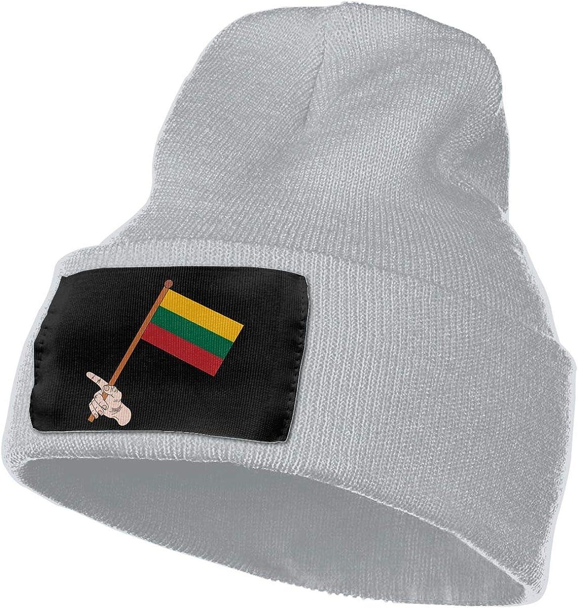 SLADDD1 Flag Warm Winter Hat Knit Beanie Skull Cap Cuff Beanie Hat Winter Hats for Men /& Women