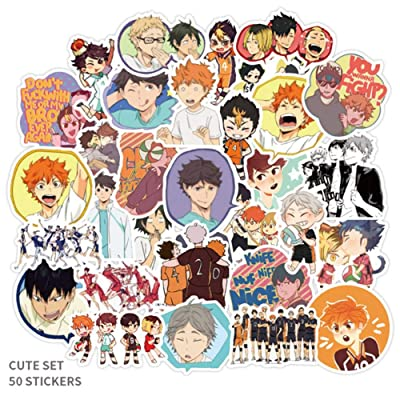 Quero Jom91 Anime Haikyuu!!! Toilet Bound Hanako Kun Graffiti Stickers Suitcase Guitar Stickers(2): Home & Kitchen