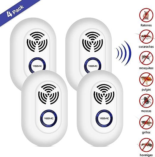 YISSVIC Repelente Ultrasónico Repelente Electrónico Enchufable ...