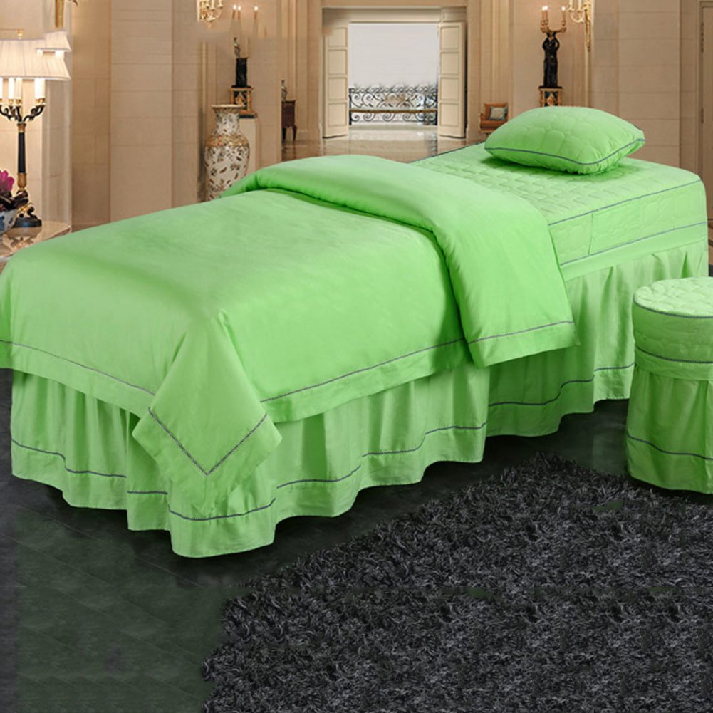 Beaten Simple Cotton Beauty Bedspread Cotton Massage Bedlinen Beauty Salon Spa  Bed Sheets H 80x190cm