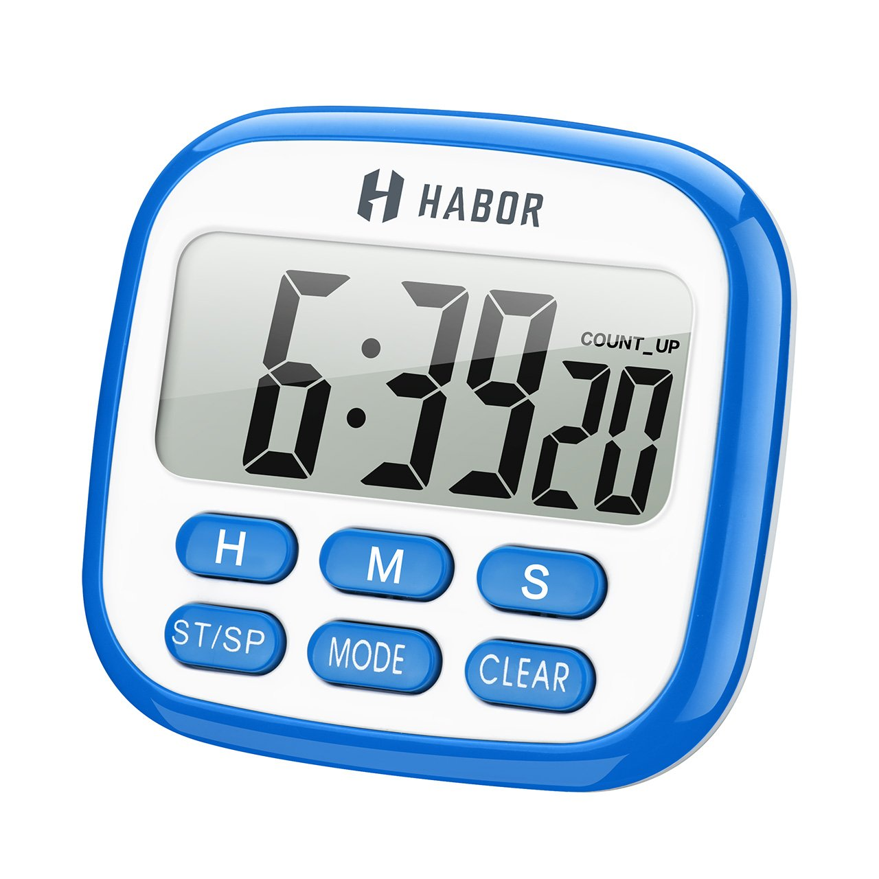 Habor Digital Kitchen Timer, Cooking Timers Clock Multifunction with ...