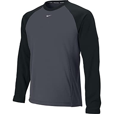 78ab77447a56 Nike Shield Therma-FIT Men s Long-Sleeve Crew 1.5 Shirt at Amazon ...