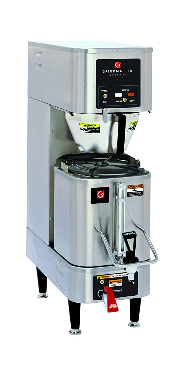 Amazon.com: Grindmaster-Cecilware P300E 120/208-volt Single Shuttle Brewer  with CS-LL Shuttle, 1.5 Gallon, Stainless Steel: Single Serve Brewing  Machines: ...