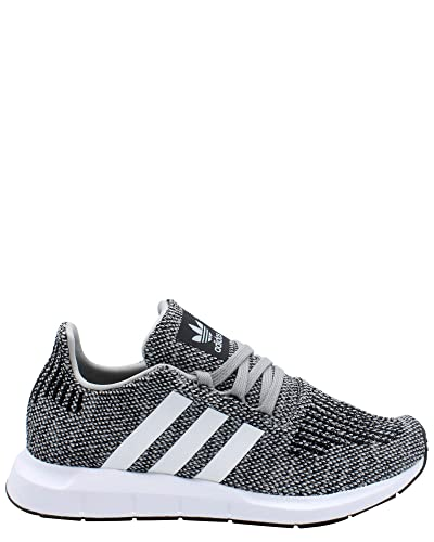 b823a562775d7 adidas Originals Kids Boy s Swift Run (Big Kid) Grey White 3.5 M US