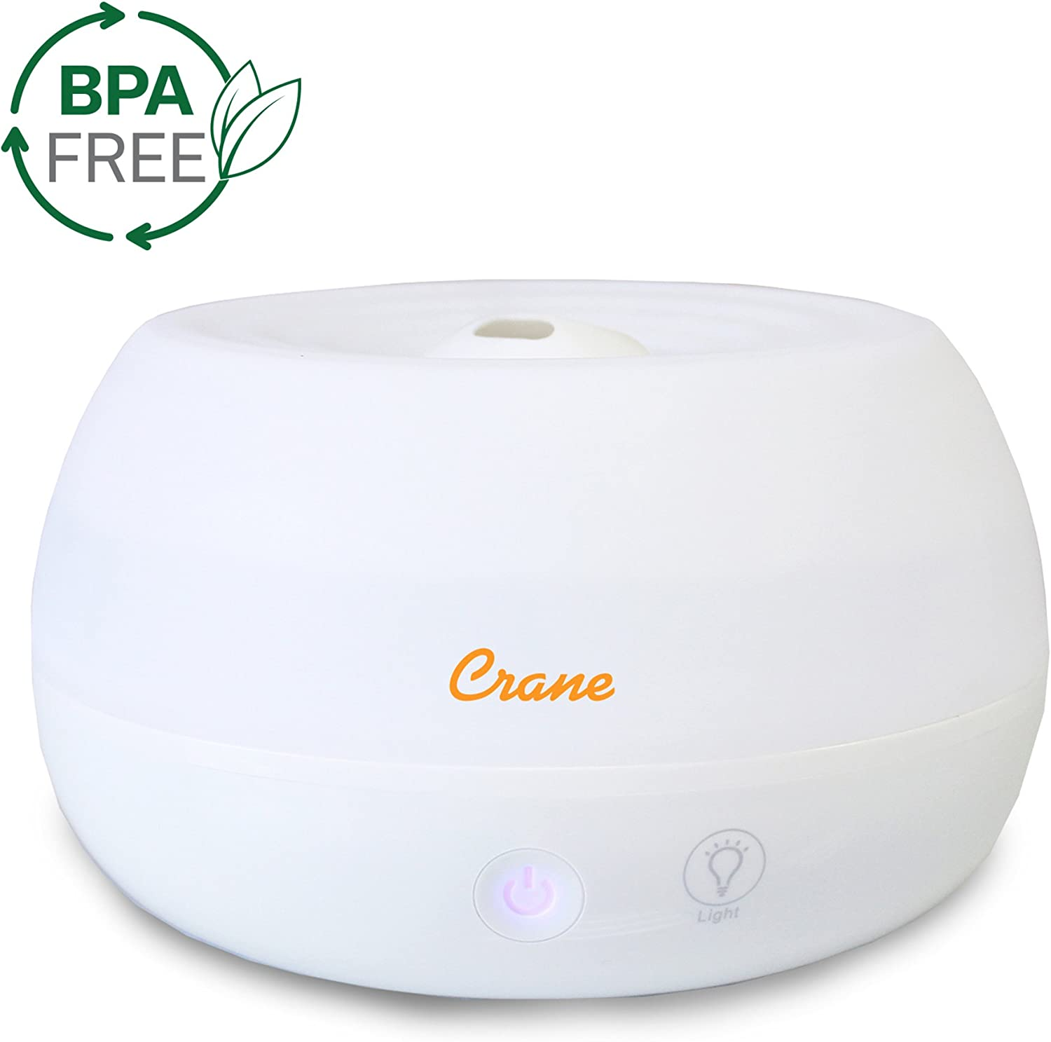 New Ultrasonic Humidifier Air Cool Mist Purifier Home Room Aroma Diffuser White