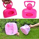 Pets Empire Portable Pet Dog and Cat Waste Bag Case Pooper Scooper Pickup Tool (Colour May Vary)