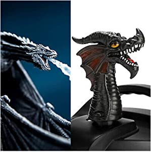 Fire-breathing Dragon Steam Release Diverter Tool for Pressure Cooker Kitchen,Steam Release Accessory for Pressure Cooker,Cupboards/Cabinets Savior (Black Dragon)