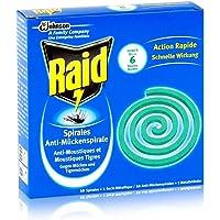 Raid anti moustiques spirale 10spirales–Contre les moustiques et Tiger moustiques (Sauna)