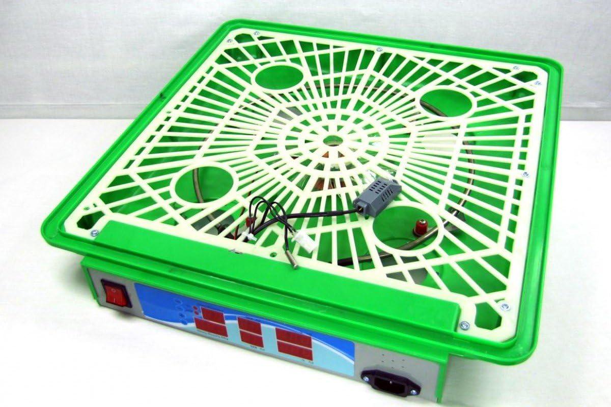 G/änse Zubeh/ör H/ühner HeuSa Tech Inkubator VOLLAUTOMATISCH BKPro-G Brutmaschine geeignet f/ür Verschiedene Eiergr/ö/ßen Wachtel Brutautomat