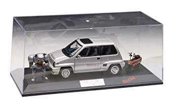 Honda City Turbo II Silver With Motocombo In Red with Bulldog and display case 1/18 by Autoart 73284 (japan import): Amazon.es: Juguetes y juegos