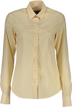 Gant 1403.432078 Camisa con Las Mangas largas Mujer Amarillo 750 40: Amazon.es: Ropa y accesorios
